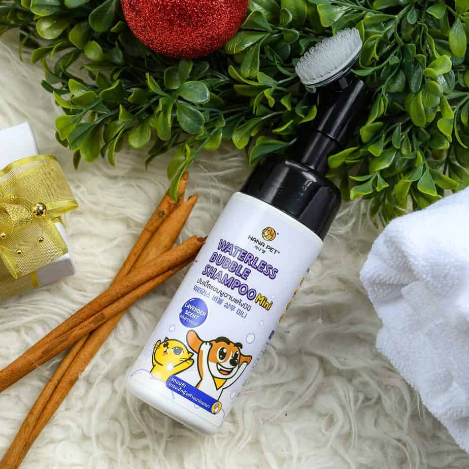 Waterless Bubble shampoo mini lavender